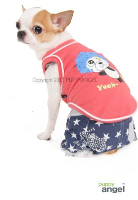 PA-TS148 - Atom Dog T-shirt