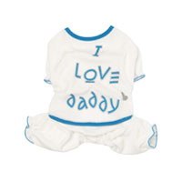 PA-PJ017 - I Love Daddy Romper Suit