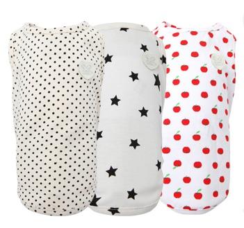 PA-TS226 - Puppy Angel GIBON Sleeveless T-shirts Multi Pack